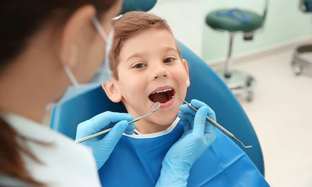 Barn behandling